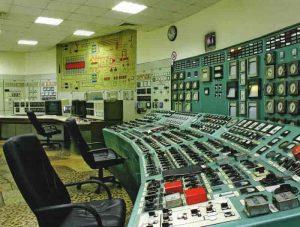 Една от командните зали на ТЕЦ Варна, общо са 3.