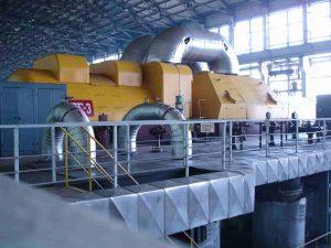 турбина, собственост на ТЕЦ Варна ЕАД